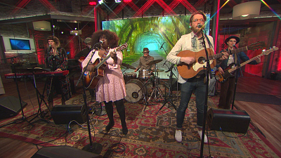 """CBS This Morning - Yola performs """"Love All Night (Work All Day)"""""""