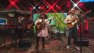 """CBS This Morning - Yola performs """"Ride Out In The Country"""""""