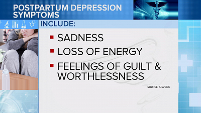 CBS This Morning - How the 1st postpartum depression drug works
