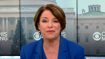"CBS This Morning - Amy Klobuchar demands ""entire"" Mueller report"