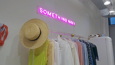 CBS This Morning - Something Navy: Modern marketing for retailer