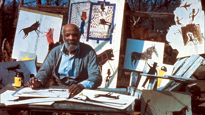 Sunday Morning - The folk art of Bill Traylor