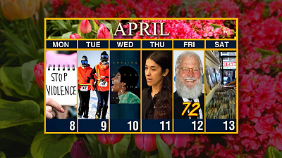 Sunday Morning - Calendar: Week of April 8