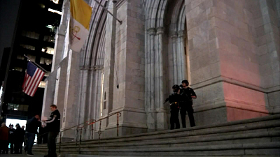CBS This Morning - Man carries gas, lighters into NYC cathedral