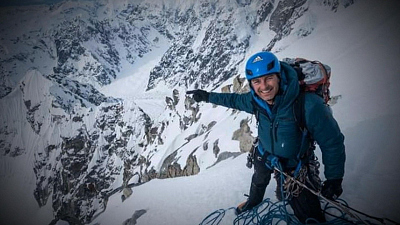 CBS This Morning - Family of climber presumed dead in avalanche