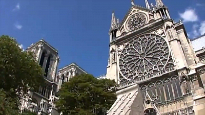 Sunday Morning - From 2011: The history of France's Notre Dame Cathedral