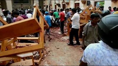 Sunday Morning - Arrests following blasts in Sri Lanka