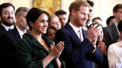 CBS This Morning - Are Prince Harry and Meghan moving to Africa?
