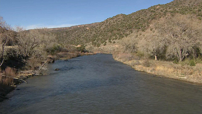 CBS This Morning - Climate change threatens to dry up Rio Grande