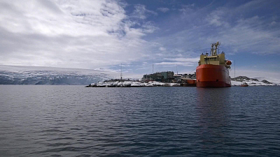 CBS This Morning - Scientists examine seafloor in Antarctica