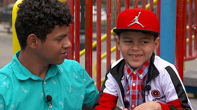 CBS This Morning - Honduran brothers reunite after 183 days apart