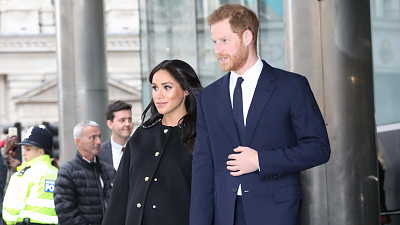 CBS This Morning - Meghan Markle & Prince Harry break tradition