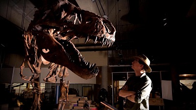 CBS This Morning - Scotty, largest T. rex ever found, on display