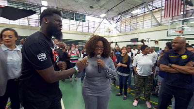 CBS This Morning - Newark principal on Oprah's $500K donation