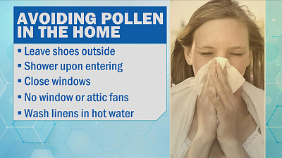 CBS This Morning - Allergy season: Minimize pollen exposure