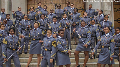 CBS This Morning - West Point class most diverse in its history