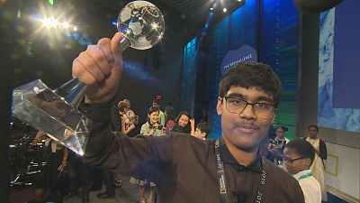 CBS This Morning - 8th grader wins 2019 National Geographic Bee