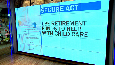 CBS This Morning - Breaking down retirement bill SECURE Act