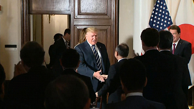 CBS This Morning - Trump visits Japan as tensions with Iran grow