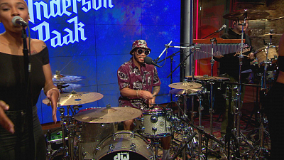 "CBS This Morning - Anderson .Paak performs ""King James"""
