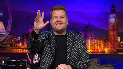 CBS This Morning - Corden previews star-studded dodgeball game