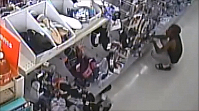 CBS This Morning - Police release video of alleged shoplifting