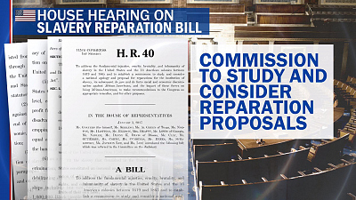 CBS This Morning - House holds hearing on reparations