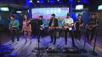 "CBS This Morning - Broken Social Scene performs ""1972"""