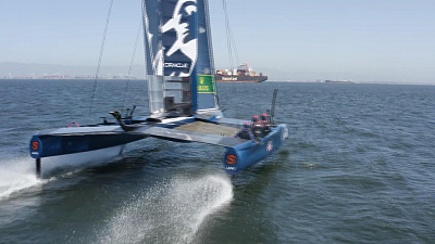 CBS This Morning - Inside the future of competitive sailing