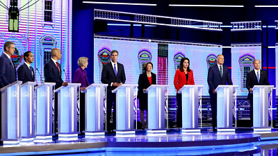 CBS This Morning - Immigration figures prominently in 1st debate