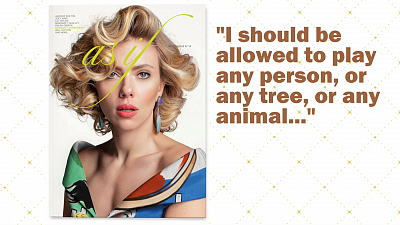 CBS This Morning - Scarlett Johansson makes controversial remark