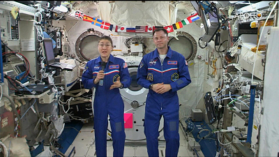 CBS This Morning - ISS astronauts reflect on Apollo 11 mission