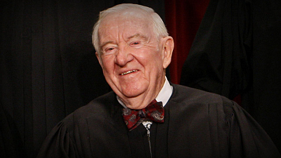 CBS This Morning - Remembering former Justice John Paul Stevens