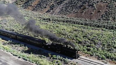 CBS This Morning - American Wonders: Nevada's star train