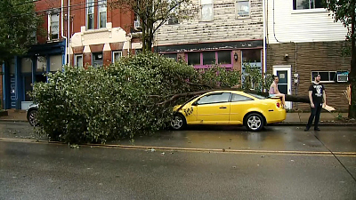 CBS This Morning - Weekend storms wreak havoc across the country