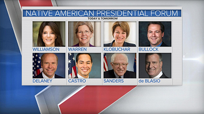 CBS This Morning - Democratic contenders stump in Iowa