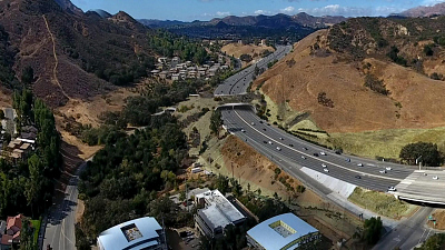 CBS This Morning - L.A. one step closer to wildlife crossing