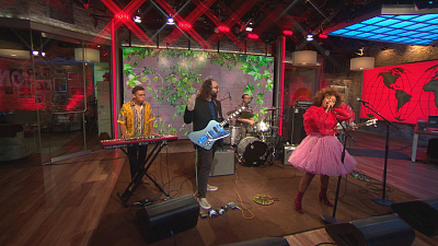 "CBS This Morning - Seratones performs ""Over You"""