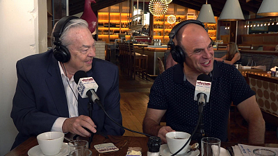 "The Takeout - ""The Takeout"": NPR's Bill Kurtis, Peter Sagal"
