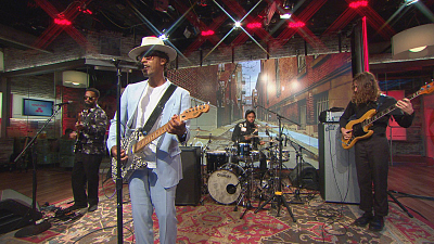 "CBS This Morning - Raphael Saadiq: ""Something Keeps Calling"""