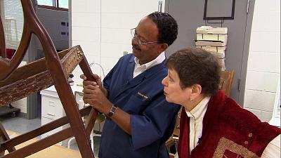 Sunday Morning - Sitting pretty: Colonial Williamsburg furniture restoration