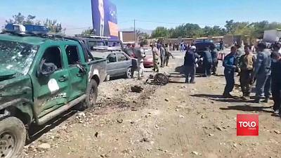 CBS This Morning - Over 30 killed in two Afghanistan bombings