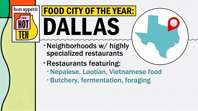 CBS This Morning - Bon Appétit picks Restaurant City of the Year