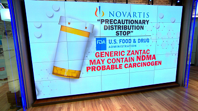 CBS This Morning - Distribution of generic Zantac halted
