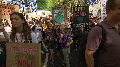 CBS This Morning - Millions demand action on climate change