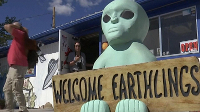 "CBS This Morning - Hundreds descend on desert near ""Area 51"""