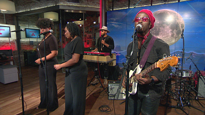 "CBS This Morning - Saturday Sessions: Black Pumas perform ""Colors"""
