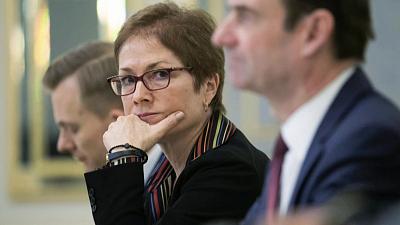 CBS This Morning - Yovanovitch: Impeachment inquiry deposition