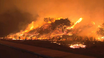 CBS This Morning - Wildfires erupt in California