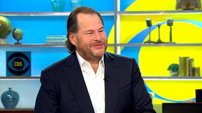"CBS This Morning - Marc Benioff on new book ""Trailblazer"""